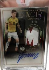 2016 Panini Noir Soccer James Rodriguez Colour Autograph Sick Patch 11/25