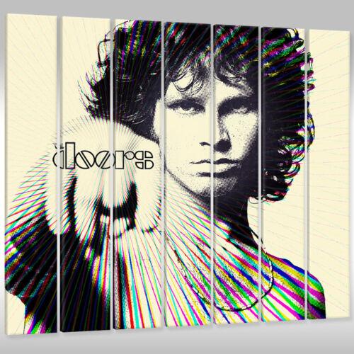 Leinwandbild Canvas Wandbilder Kunstdruck Musik Sänger Jim Morrison The Doors