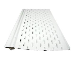 Us Aluminum Leaf Shelter Gutter Guard Carton Of 100ft Ebay