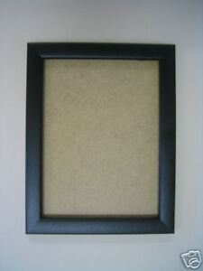 Wooden Black 9 X 6 Picture Frame With Glass Ebay