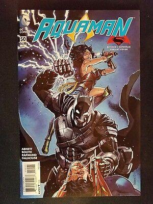 Aquaman #50 New 52 First AQUAWOMAN Mera Appearance DC 1st Print Near Mint to NM+