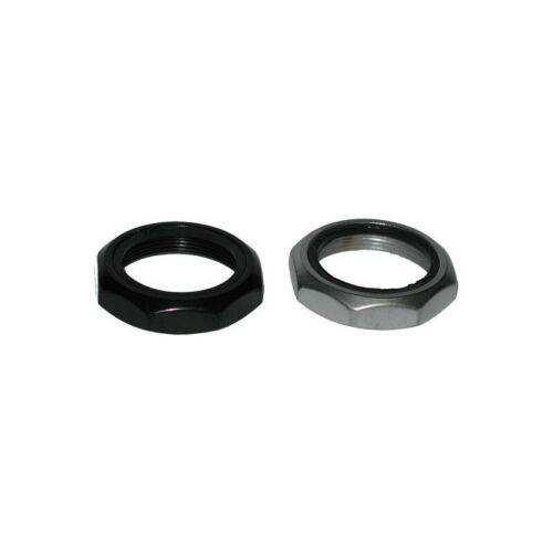 """Tange Steel Locknut 1-1//8/"""" Black"""