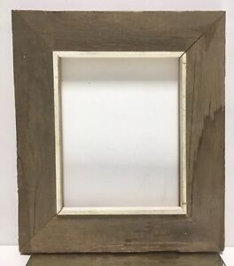 VTG-Aesthetic-Barn-Wood-Mid-Century-Wood-Picture-Frame-Fits-8-034-x-10-034