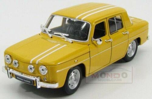 Renault R8 Gordini 1964 Yellow Welly 1:24 WEW24015Y