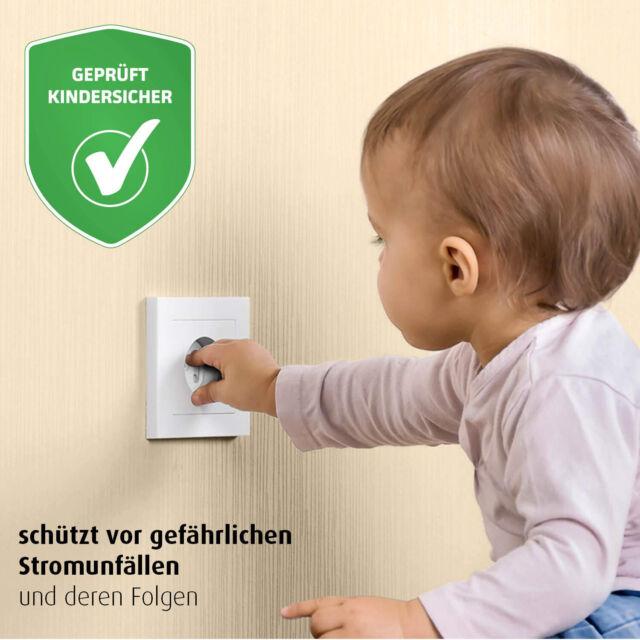 20 Stück Steckdosenkindersicherung Kinder Babyschutz für Steckdosen socket cover