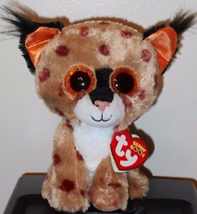 4a13d222648 Ty Beanie Boos ~ BUCKWHEAT the Lynx (6 Inch) NEW MWMT 8421361908