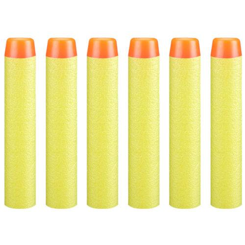 200x Pistolet a fléchettes EVA Balles Pour Jeu Nerf N-Strike Blasters 7.2x 1.3cm