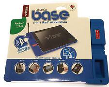VIBE Slick Base 5 in 1 iPad Workstation  for iPad 2/3/4 - Blue