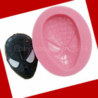 Spiderman Superhero Silicone Mold, Fondant, Chocolate, Soap, Clay, Resin