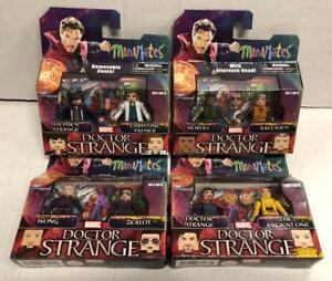 Marvel Minimates Series 70 Doctor Strange Movie Doctor Strange /& The Ancient One