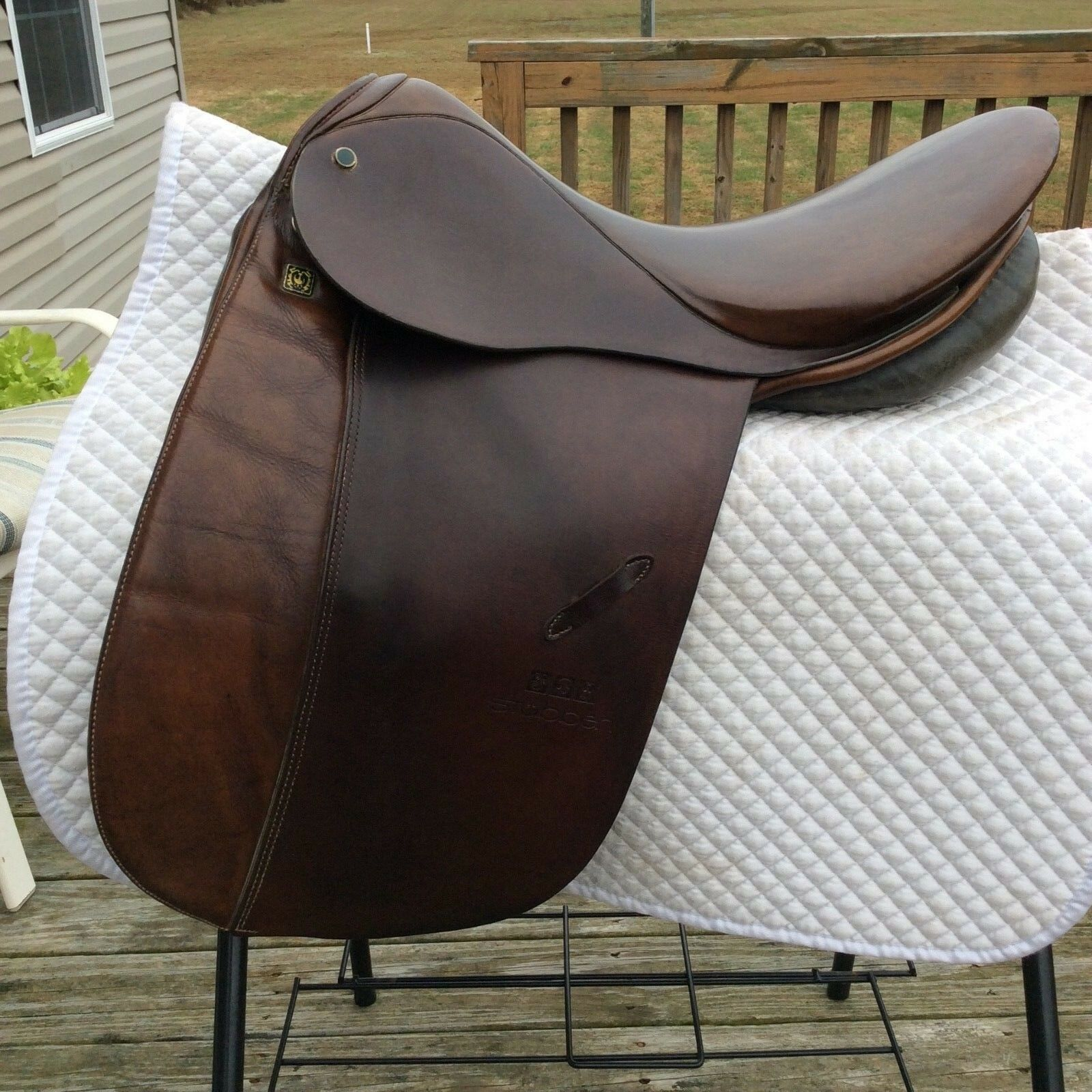 18   Stubben Tristan Dressage Saddle  good price