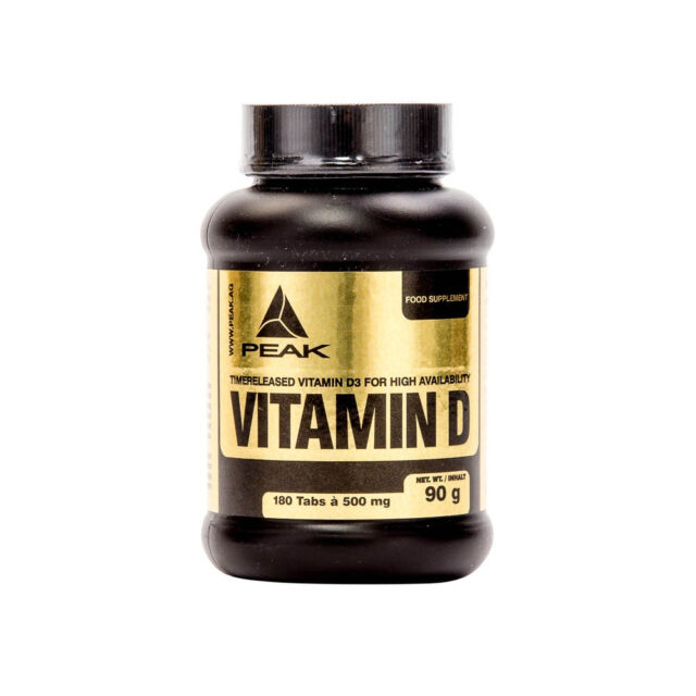 10,35 €/100g  Peak Vitamin D 120 Kapseln Dose