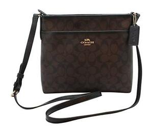 ef28273f15 Coach Signature Messenger File Bag Crossbody Sling Purse F29210 for ...