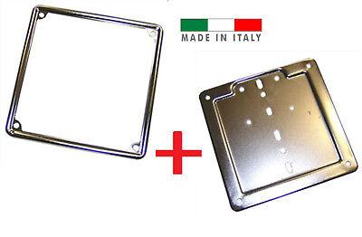 cromata AMAS The Best CORNICE TARGA MOTOCICLI MADE IN ITALY VECCHIO CODICE DELLA STRADA fino al 1999