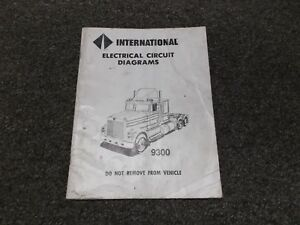 image is loading 1988-international-9300-9370-truck-electrical-wiring- circuit-