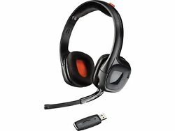 Plantronics GameCom 818 On-Ear Wireless Bluetooth Gaming Headphones for PlayStation 4 (Black)
