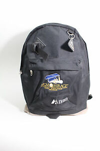 Everest-MGM-MIRAGE-Hotel-Casino-17-034-Backpack-Bag-Black-Excellent-Condition