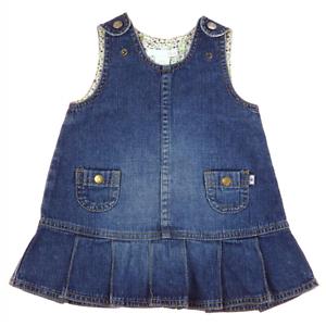 H M Robe Chasuble En Jean Taille 6 Mois Ebay