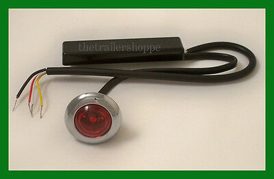 """Maxxima Amber LED 1/"""" Auxiliary Micro Strobe Light Model Number M09370Y"""