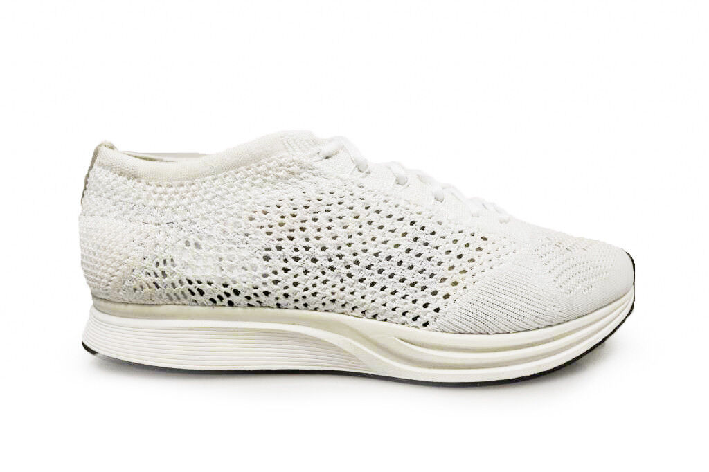 Mens Mens Mens Nike Flyknit Racer - 526628 100 - WhiteTrainers 56c0a3