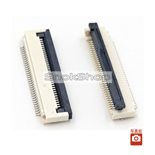 2X FFC//FPC CONNECTOR 34pin 0.5mm pitch FLIP TYPE RIBBON FLAT BOTTOM CONTACT