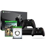Xbox One X 1TB Console+Xbox Controller(Black)+Titanfall 2+Elder Scrolls Online