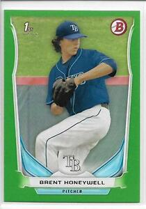 2014-Bowman-Draft-Brent-Honeywell-Green-Paper-Parallel-039-d-75-75-Rays-Rookie