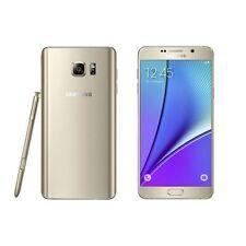 """Samsung Galaxy Note 5 Gold 32GB N920 5.7"""" Unlocked"""