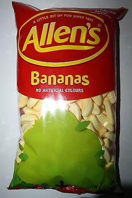 Allens Candy Bananas 1kg Bulk Bag