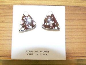 Native-American-Sterling-Silver-and-Jasper-Earrings-E210
