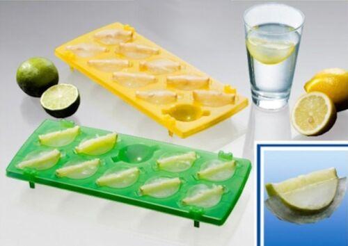 Eiswürfelformer Zitrusfrucht Eiswürfelbereiter für 20 Eiswürfel mit Frucht