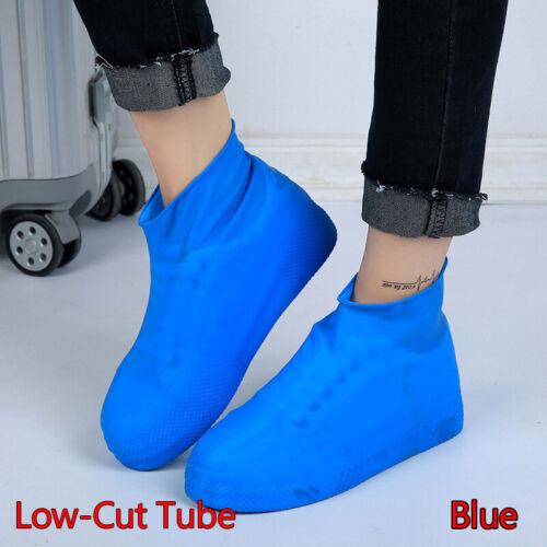 Unisex Waterproof Non Slip Shoe Covers Latex Wear-Resistant Boot Reusable