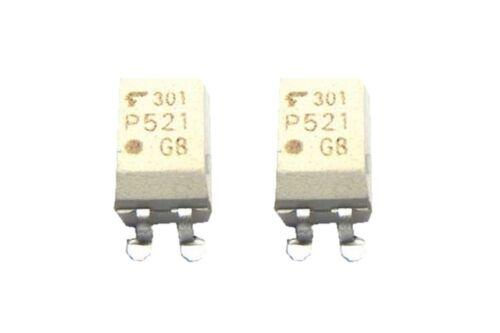 0015 TLP521 SMD Optokoppler ein Kanal NPN SOP-4 2 Stück