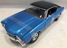 Maisto - 31890 - 1971 Chevrolet Chevelle SS 454 Sport Scale 1:18 - Metallic Blue
