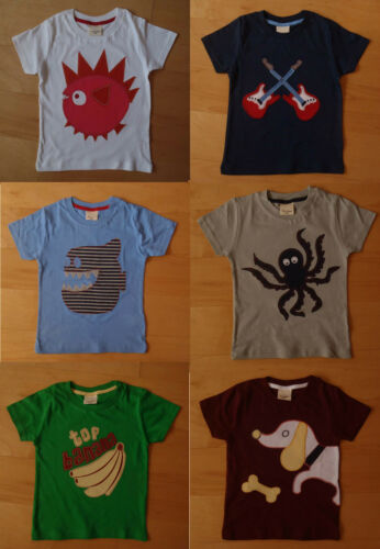 Boys Top Ex MINI BODEN T-Shirt 2 3 5 years NEW SIZING different from label