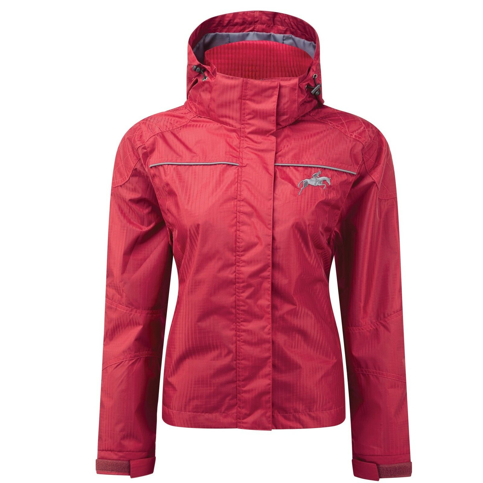 Harry Hall Ellerton Jacket - Equestrian Lightweight Waterproof Jacket - rot