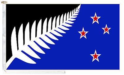 Toggled amp; Proposal New Courtesy Zealand Boat 5' Flag Flag 2016 Roped x 3' YwxwpqZXgf