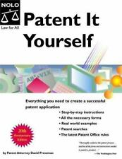 Patent It Yourself by Salli Rasberry and David Pressman (2005, Paperback, Revised)