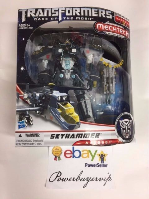 nuovo Transformers  Dark of the Moon MechTech Voyager cielohammer 2 DAY GET