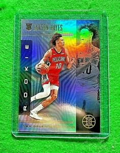 JAXSON-HAYES-PRIZM-ILLUSION-ROOKIE-CARD-PELICANS-2019-20-ILLUSIONS-BASKETBALL-RC