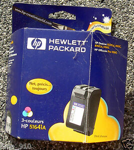 Cartouche-Couleur-encre-HP-51641A-HP41-hp-41