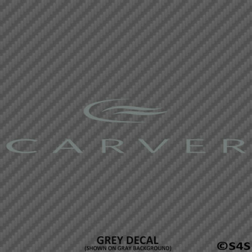 Carver Yachts Luxury Outdoors Boating Vinyl Decal Choose Color