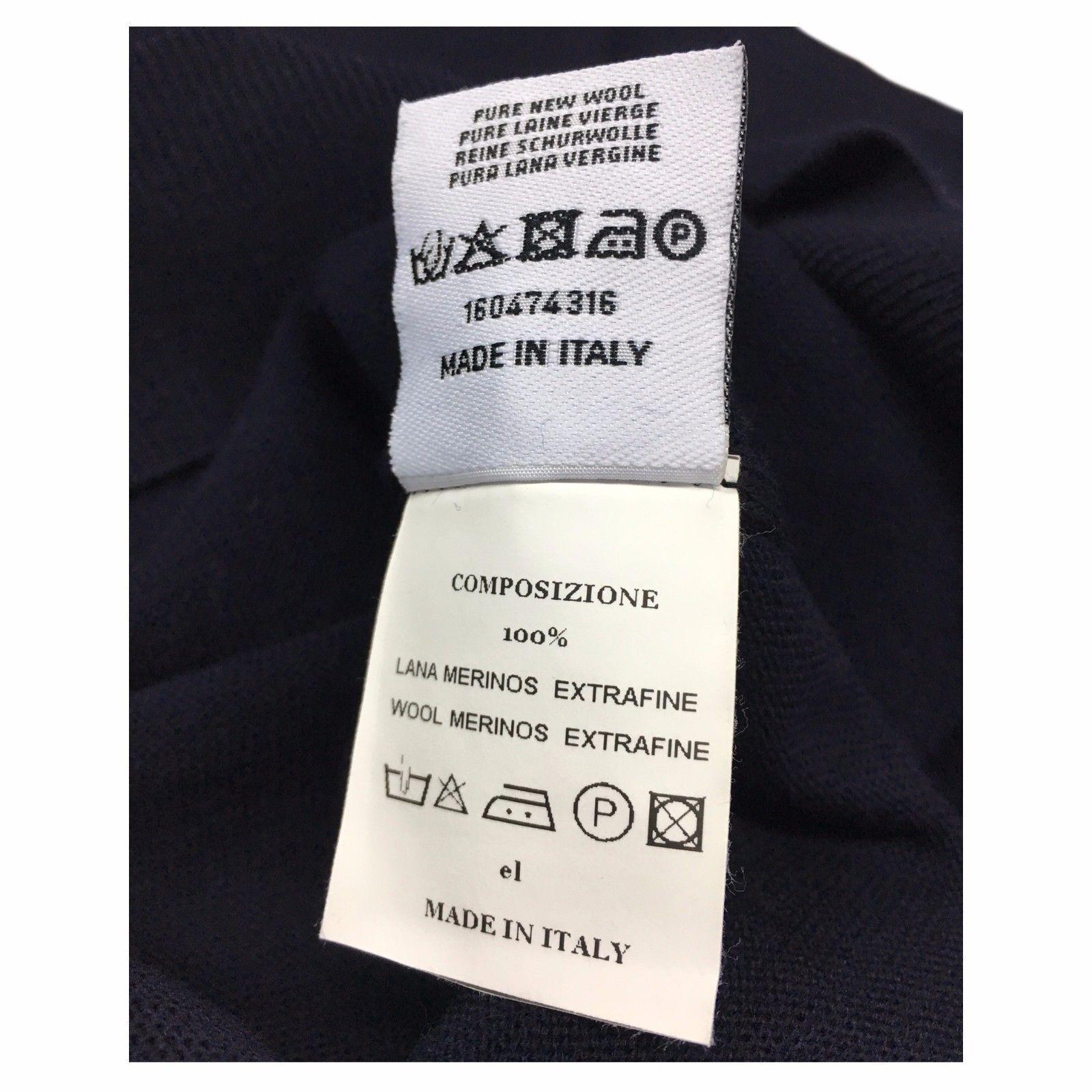 FERRANTE Weste Herren Mit Knöpfen 100% 100% 100% Wolle MADE IN ITALY Modell G22201   Shop Düsseldorf  fc15a1