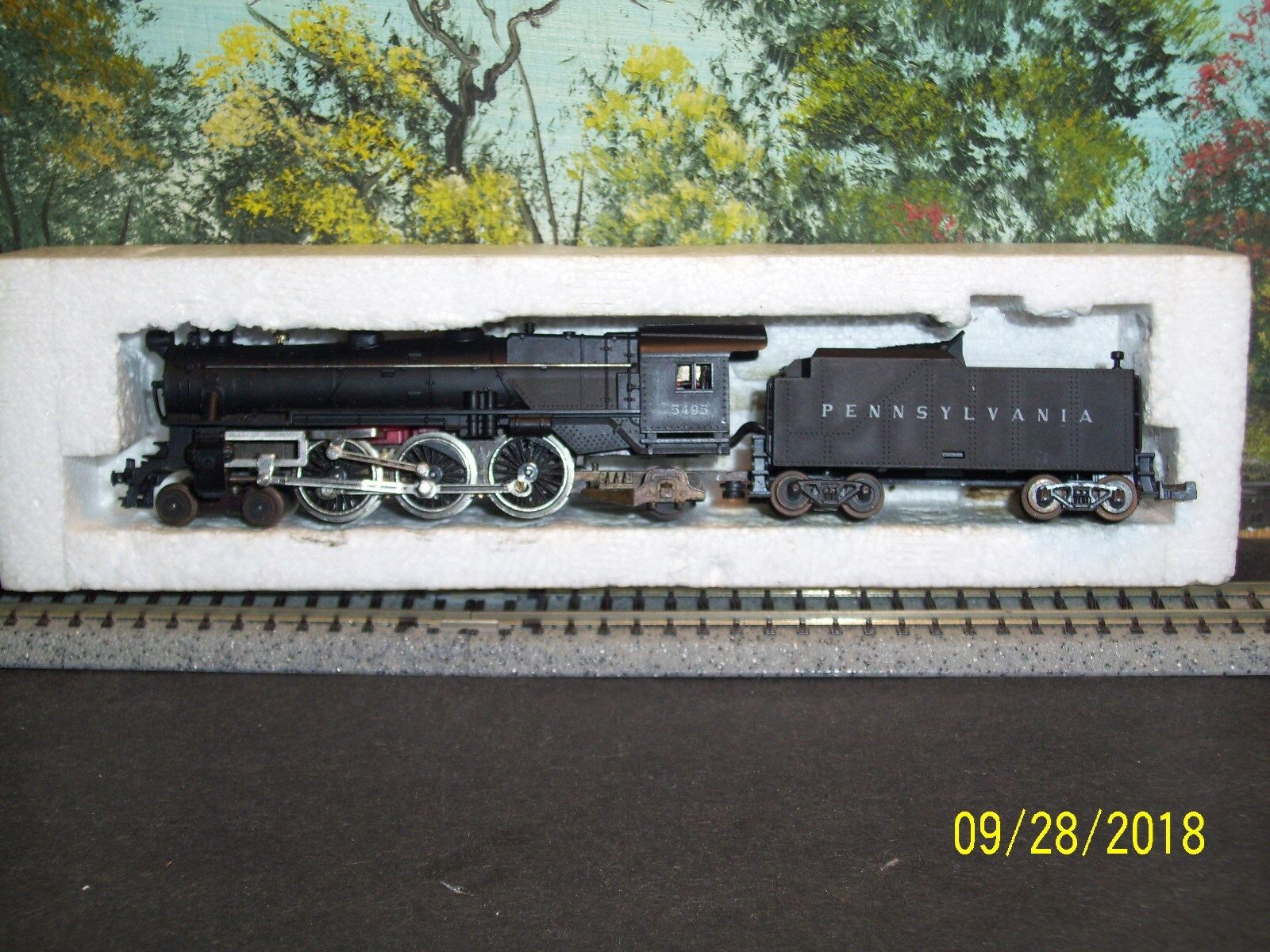 Minitrix Escala N  51 2970 00 4-6-2 Locomotora Pennsylvania Railroad  5495