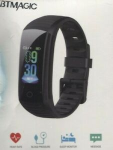 BTMAGIC Fitness Tracker-Heart Rate Blood Pressure Monitor-Blood Oxygen-Pedometer