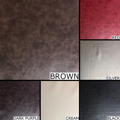 HIGH QUALITY BLACK FAUX LEATHER MATERIAL LEATHERETTE UPHOLSTERY FIRE RETARDANT