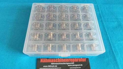 AEG,W6,Privileg-2 Box 50 Nähmaschinen CB Spulen Spulen Box für PFAFF,Bernina