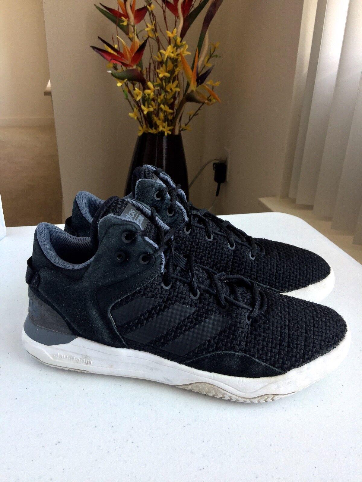 Adidas uomini cloudfoam cloudfoam cloudfoam revival a metà il basket scarpa sz 9 us   Liquidazione    Uomini/Donne Scarpa  e5eabd