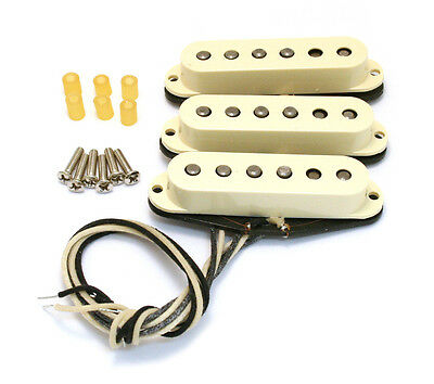Genuine Fender Original '57/62 Stratocaster/Strat Pickup Set 099-2117-000