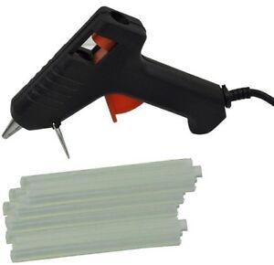 ELECTRIC-PISTOLA-COLLA-A-CALDO-fuso-con-trigger-PLUS-50-Bastoncini-Colla-Per-Hobby-Craft-Work